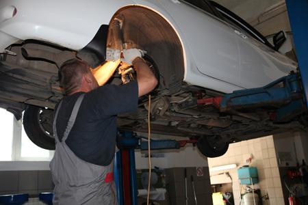 ремонт подвески а/м Тойота